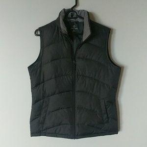 Lands End TALL puffer vest